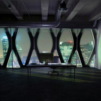 Visual futuristic Office