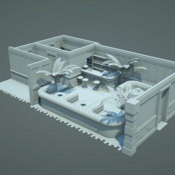 3D Interieur Visualization